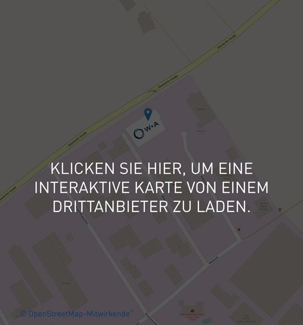 Lageplan W+A Wälzlager- und Antriebstechnik GmbH
