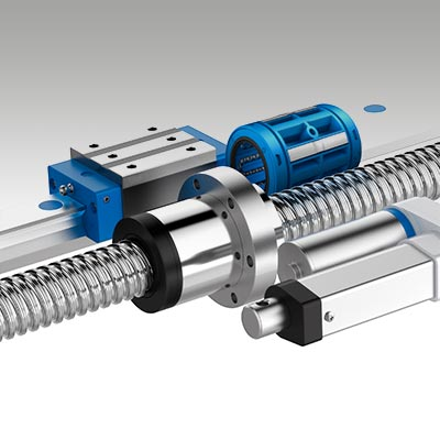 Linear Actuators, Linear Ball Bearings, Track Roller Guidance Systems