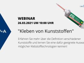 Online-Schulung Henkel/Loctite: Klebetechnik